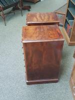 Pair of Pedestal Chests c.1860 (3 of 6)