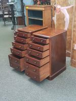 Pair of Pedestal Chests c.1860 (4 of 6)