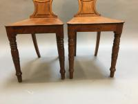 Pair of George IV Hall Chairs (5 of 10)
