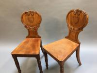 Pair of George IV Hall Chairs (2 of 10)