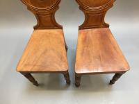 Pair of George IV Hall Chairs (7 of 10)