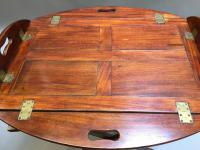 George III Butlers Tray on Stand (12 of 14)