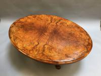 Victorian Burr Walnut Coffee Table (3 of 6)