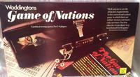 1977 Waddingtons Game of Nations Board Game