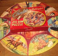 1953 Waddingtons 470 Piece Jigsaw Queens Coronation, Complete