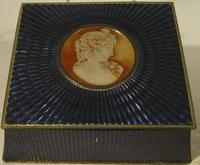 Early Unusual Mcvitie & Price Cameo Biscuit Tin
