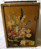 Vintage Macfarlane & Lang Floral Biscuit Tin