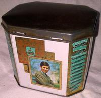 1969 Prince Charles Investiture Tea Caddy Tin