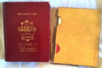 1933 1st Edition Waddingtons Double Lexicon Card Game Complete