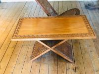 African Coffee Table & Chairs (8 of 10)