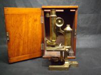 19th Century Monocular Microscope