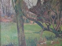 Adrian Daintrey RWA (1902-1988) Large Country House Landscape Oil Painting