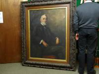Spectacular Massive 5.7ft X 4.7ft Edwardian Oil Portrait Painting from the USA