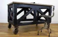 Rare Fabulous Late Victorian Painted Pine Coffin Carrier Bier (6 of 16)