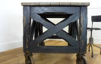 Rare Fabulous Late Victorian Painted Pine Coffin Carrier Bier (7 of 16)