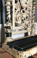 Victorian Cast Iron Stick Hall Stand Untouched Condition (9 of 13)