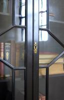 Late Victorian Ebonised Chippendale Revival Bookcase Bureau (2 of 14)
