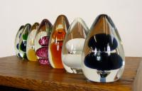 Collection of 7 Mid-Century Wedgwood Glass Paperweights 1 (6 of 8)