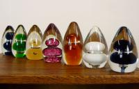Collection of 7 Mid-Century Wedgwood Glass Paperweights 1 (5 of 8)