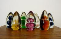 Collection of 7 Mid-Century Wedgwood Glass Paperweights 1 (3 of 8)