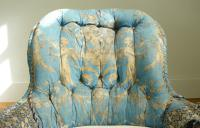 Pretty Victorian Parlour Drawing Room Chair c.1860 (10 of 12)