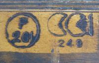 Great CC41 Post War British Oak Glazed Bookcase Cabinet (4 of 15)