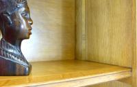 Great CC41 Post War British Oak Glazed Bookcase Cabinet (11 of 15)