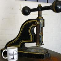 Very Large Victorian Letter-press by Shaw & Son Fetter Lane London (7 of 9)