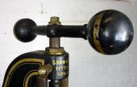 Very Large Victorian Letter-press by Shaw & Son Fetter Lane London (5 of 9)