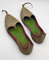 Old Pair of Aladdin Slippers c.1925 (4 of 6)