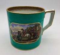 Large Antique Prattware Mug c.1850
