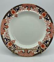 Antique Royal Crown Derby Porcelain Plate c.1886