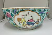 Large 18th Century Chinese Porcelain Bowl c.1765 Qianlong Period