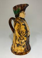 Antique Staffordshire Creamware Thin Man Toby of Ralph Wood Type c.1850 (2 of 8)