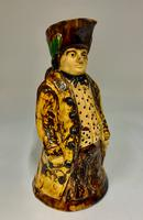 Antique Staffordshire Creamware Thin Man Toby of Ralph Wood Type c.1850 (7 of 8)