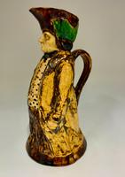 Antique Staffordshire Creamware Thin Man Toby of Ralph Wood Type c.1850 (4 of 8)