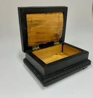Ebonised & Inlaid Ring Box c.1925 (3 of 6)