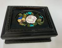 Ebonised & Inlaid Ring Box c.1925 (2 of 6)