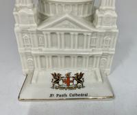Antique Crested China City of London St Pauls Cathedral (2 of 7)