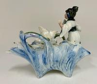 Art Nouveau Oriental Porcelain Figurine c.1895 (3 of 6)