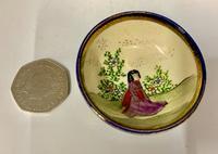 Small Oriental Satsuma Pottery Bowl c.1915 (6 of 6)