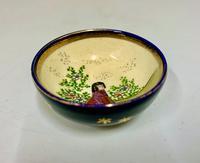 Small Oriental Satsuma Pottery Bowl c.1915 (3 of 6)