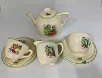 English Ceramic Childs Nursery Part Tea Set c.1930 (2 of 4)