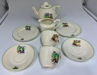 English Ceramic Childs Nursery Part Tea Set c.1930 (4 of 4)