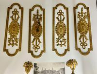 Antique Gilded Brass Door Furniture c.1830 (7 of 8)