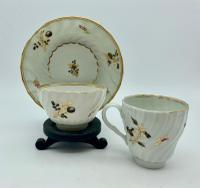 Georgian Porcelain Trio Tea Bowl Cup & Saucer C.1800