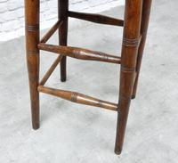 19th Century Country Stool (4 of 5)