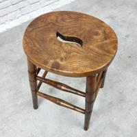 19th Century Country Stool (3 of 5)