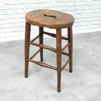 19th Century Country Stool (2 of 5)