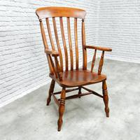 Large Windsor Lathback Armchair (3 of 6)